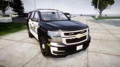 Chevrolet Tahoe 2015 County Sheriff [ELS] para GTA 4