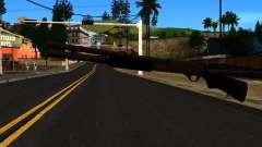 Negro MP-133 con Glitter para GTA San Andreas