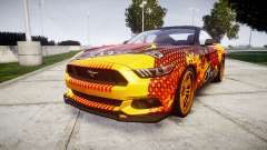 Ford Mustang GT 2015 Custom Kit alpinestars para GTA 4
