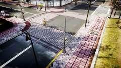 La textura de carreteras de alta definición de 2014 v1.2 para GTA 4