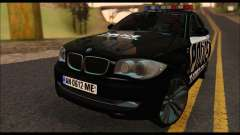 BMW 120i USA Police para GTA San Andreas