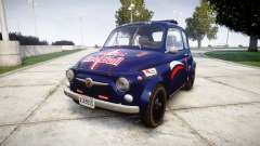 Fiat 695 Abarth SS Assetto Corse 1970 Red Bull para GTA 4