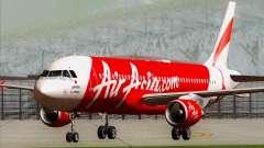 Airbus A320-200 Air Asia Japan para GTA San Andreas