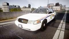 Ford Crown Victoria Canada Police [ELS] para GTA 4