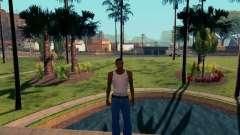 Gráfico Mod Eazy v1.2 para PC débil para GTA San Andreas