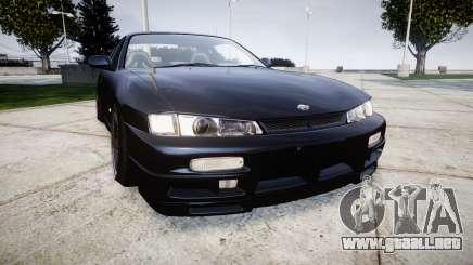 Nissan Silvia S14 Kouki Hellaflush para GTA 4