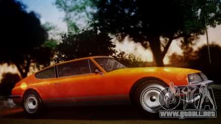 GTA 5 Lampadati Pigalle SA Plate para GTA San Andreas