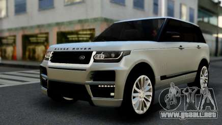 Range Rover IV 3.0 AT para GTA San Andreas