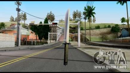 Vamp Knife from Metal Gear Solid para GTA San Andreas