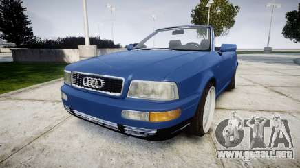 Audi 80 Cabrio us tail lights para GTA 4