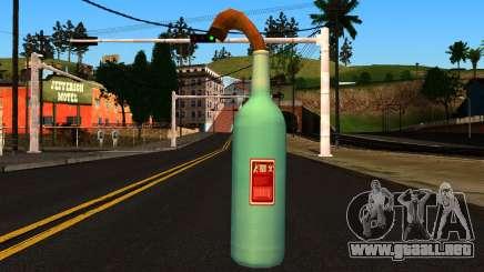 Molotov Cocktail from GTA 4 para GTA San Andreas