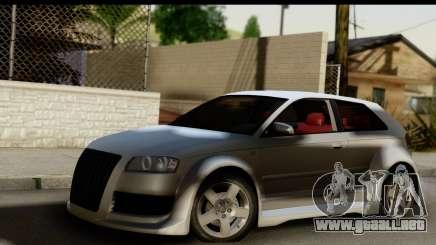 Audi A3 Tuning para GTA San Andreas