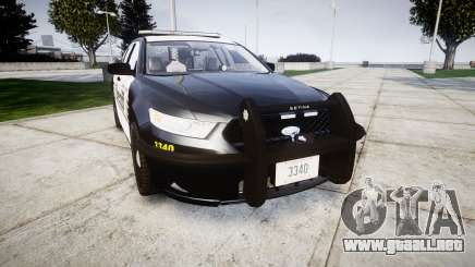 Ford Taurus 2014 County Sheriff [ELS] para GTA 4