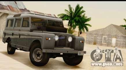 Land Rover Series IIa LWB Wagon 1962-1971 [IVF] para GTA San Andreas