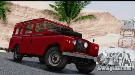 Land Rover Series IIa LWB Wagon 1962-1971 para GTA San Andreas