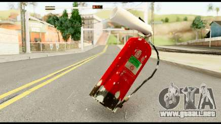 Fire Extinguisher with Blood para GTA San Andreas