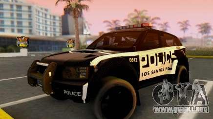 Bowler EXR S 2012 v1.0 Police para GTA San Andreas