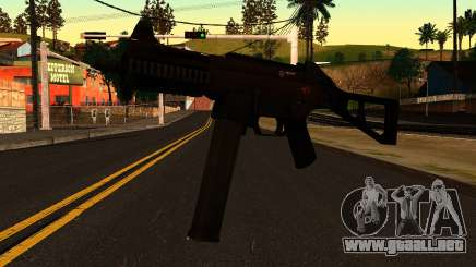UMP45 from Battlefield 4 v1 para GTA San Andreas