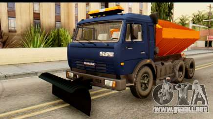 KamAZ 65115 Quitanieves para GTA San Andreas