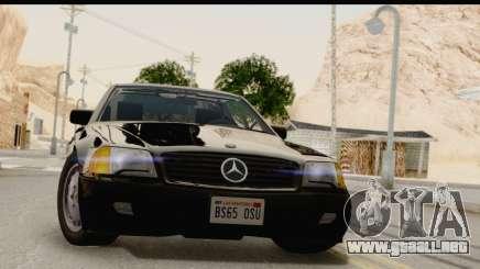 Mercedes-Benz 500SL R129 1992 para GTA San Andreas