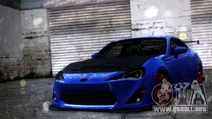 Subaru BRZ Drift Built para GTA San Andreas
