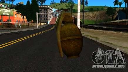 Grenade from GTA 4 para GTA San Andreas