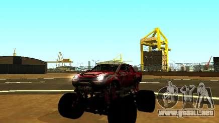 SuperMotoXL Zen MaXXimus CD 17.1 XL-HT para GTA San Andreas