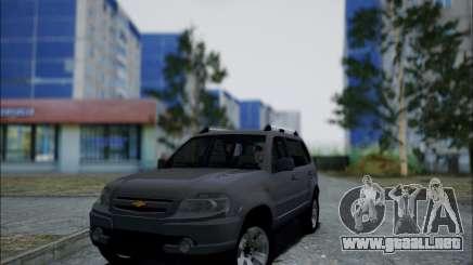 Chevrolet Niva para GTA San Andreas