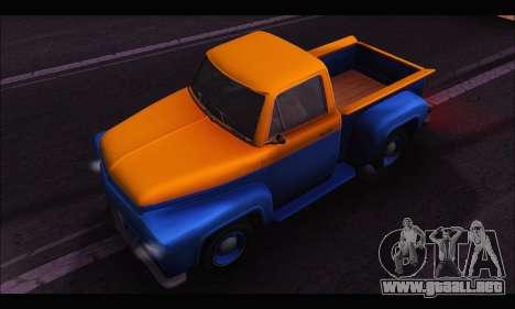 Vapid Slamvan (GTA V) para la visión correcta GTA San Andreas