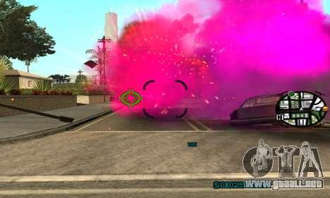 New Pink Effects para GTA San Andreas tercera pantalla