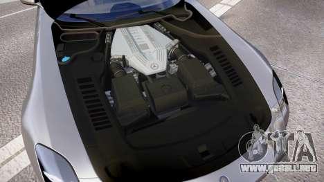 Mersedes-Benz SLS AMG 2010 para GTA 4 vista interior