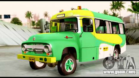 Ford Bus 1956 para GTA San Andreas