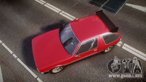 Declasse Rhapsody Camber para GTA 4 visión correcta