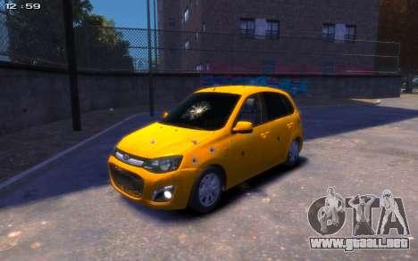 Lada Kalina 2 para GTA 4