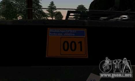 Mitsubishi Pajero Off-Road para GTA San Andreas