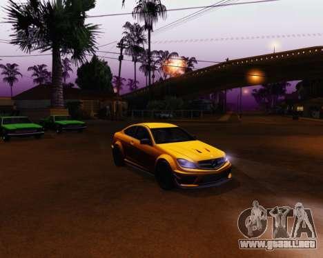 ENB by Robert v8.3 para GTA San Andreas tercera pantalla