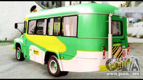 Ford Bus 1956 para GTA San Andreas left
