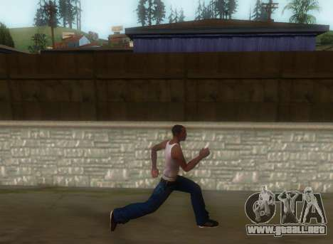 Realista de la marcha para GTA San Andreas tercera pantalla
