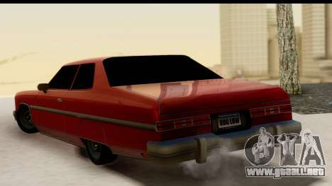 Chevy Caprice 1975 para GTA San Andreas left