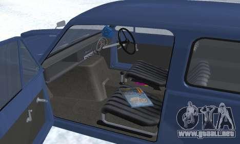 Reliant Supervan III para las ruedas de GTA San Andreas