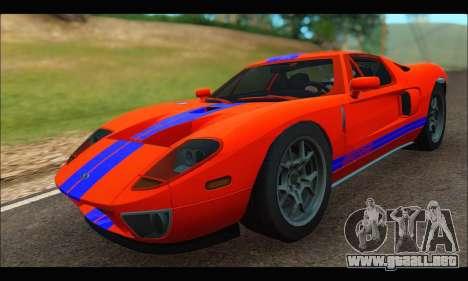 Ford GT 2006 para la visión correcta GTA San Andreas