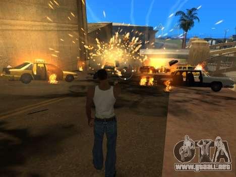 Realistic Effects v3.4 by Eazy para GTA San Andreas quinta pantalla