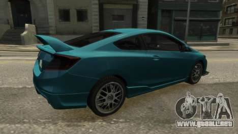 Honda Civic Si 2013 v1.0 para GTA 4 left