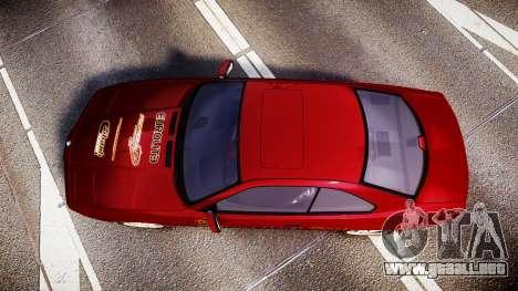 BMW E31 850CSi 1995 [EPM] Castrol Red para GTA 4 visión correcta