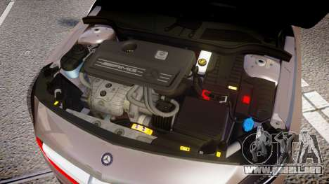 Mersedes-Benz A45 AMG PJs4 para GTA 4 vista interior