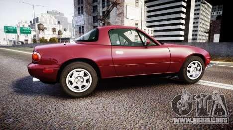 Mazda MX-5 Miata NA 1994 [EPM] para GTA 4 left