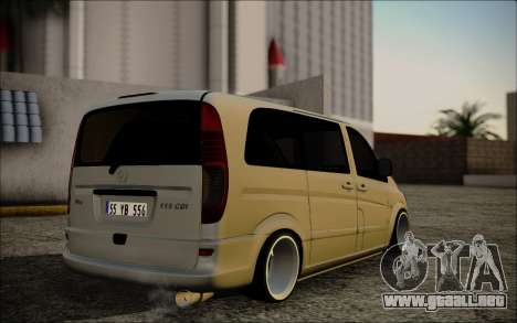 Mercedes-Benz Vito para GTA San Andreas left