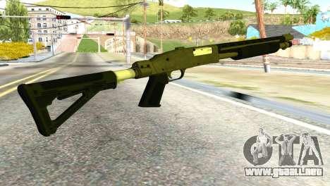 Shotgun from GTA 5 para GTA San Andreas segunda pantalla