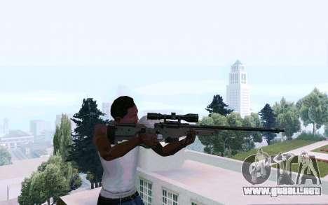 AWP L96 para GTA San Andreas tercera pantalla