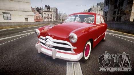 Ford Custom Tudor 1949 para GTA 4